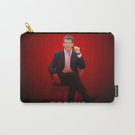 Pierce Brosnan - Celebrity (Oil Paint Art) Carry-All Pouch