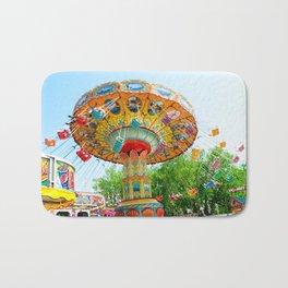 National Cherry Festival - Traverse City, Michigan - Arnold Amusements Bath Mat