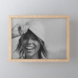 7488 Rachael enjoying Delray Beach Framed Mini Art Print
