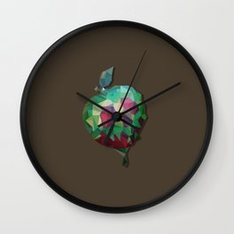The poisoned apple Wall Clock
