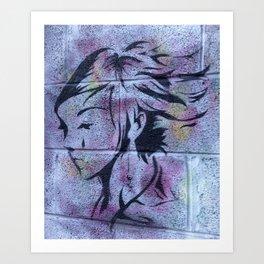 Dublin Girl Art Print