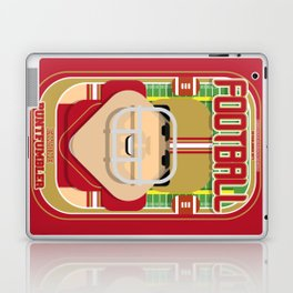 American Football Red and Gold - Enzone Puntfumbler - Victor version Laptop & iPad Skin