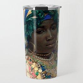 Queen Black Travel Mug
