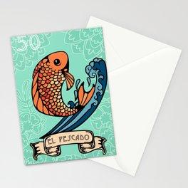 El Pescado Stationery Cards