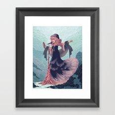 Sister of the Moon Framed Art Print