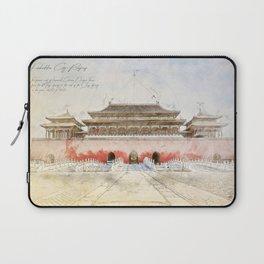 The forbidden City, Beijing Laptop Sleeve