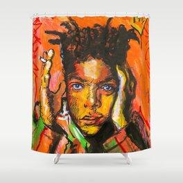 Basquiart Shower Curtain