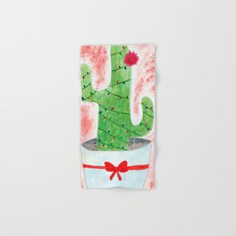 Christmas Cactus Hand & Bath Towel