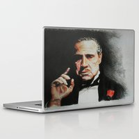 the godfather Laptop & iPad Skins featuring The Godfather by Tridib Das
