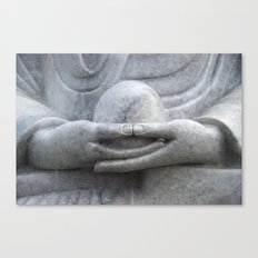 Buddhas Hands Canvas Print