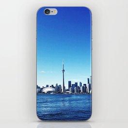 toronto cityscape iPhone Skin