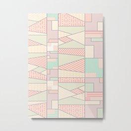 Soft Abstract #society6 #buyart Metal Print