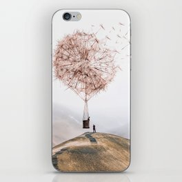 Flying Dandelion iPhone Skin