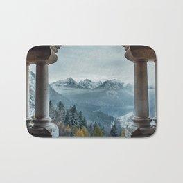 The view - Neuschwanstin casle Bath Mat