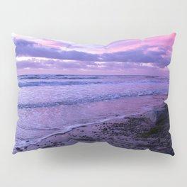 Scenic ocean sunset in Carlsbad California Pillow Sham