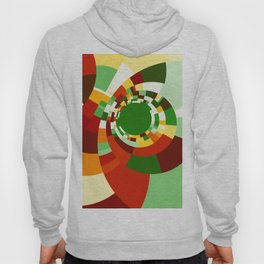 Abstract circles pattern Hoody