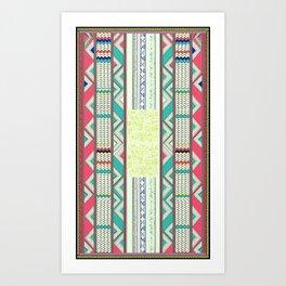 African Tribe Art Print