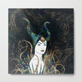 The Forest Queen Metal Print