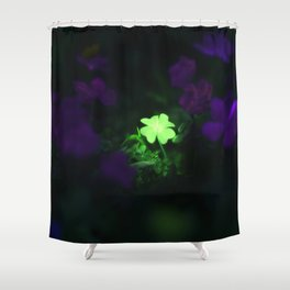 Lucky Charm Shower Curtain