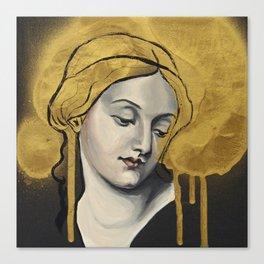 Golden God Canvas Print