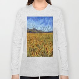 Vincent Van Gogh Sunflowers Long Sleeve T-shirt