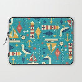 All At Sea Laptop Sleeve