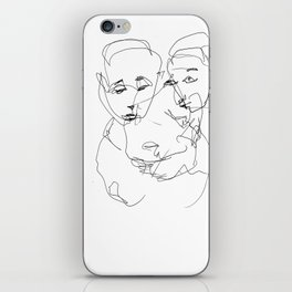 There was no need to talk iPhone Skin