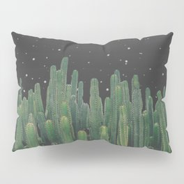 Starry Night Cactus Pillow Sham