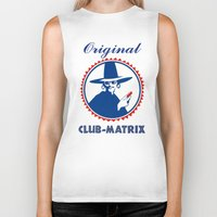 matrix Biker Tanks featuring Club Matrix by dP ARТ