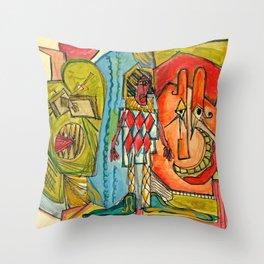 Happy Crimble Throw Pillow