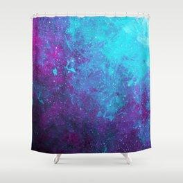Nebula Star Birth Shower Curtain