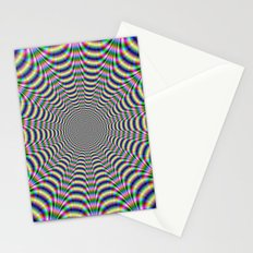 Psychedelic Web Stationery Cards