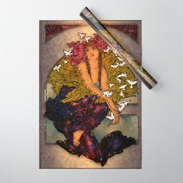 Angel Of Peace Wrapping Paper