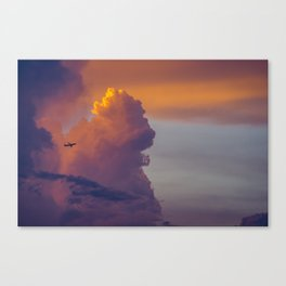 Glowing Escape Canvas Print