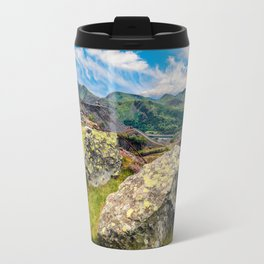 Quarry Steps Snowdonia Travel Mug