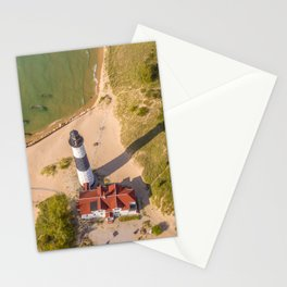 Aerial Lighthouse Stationery Cards