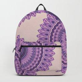 Pastel Pink And Purple Mandala Backpack