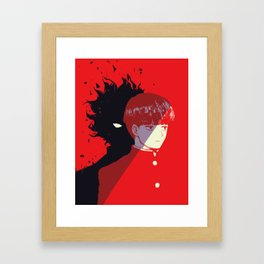 Shigeo Kageyama - Mob Psycho 100 (part 2) Framed Art Print