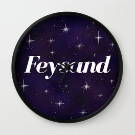 Feysand design Wall Clock
