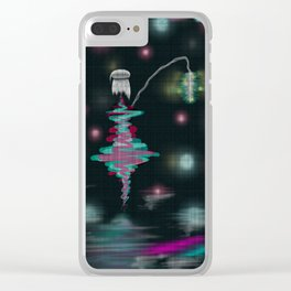 Tokyo Nights Clear iPhone Case