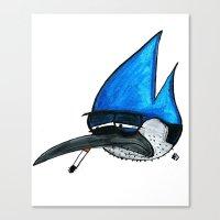 regular show Canvas Prints featuring Regular show by Bleachydrew