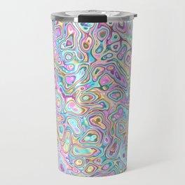 Pastel Blobs Travel Mug