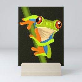 Tree Frog Mini Art Print