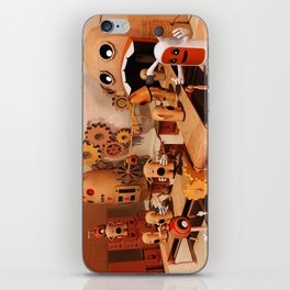 Toy Works iPhone Skin