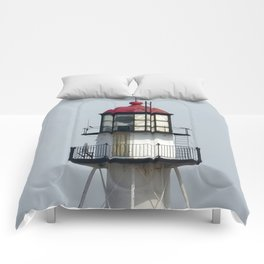 Whitefish Point Lighthouse Tower Comforters
