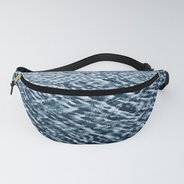 Sand Patterns, blue Fanny Pack