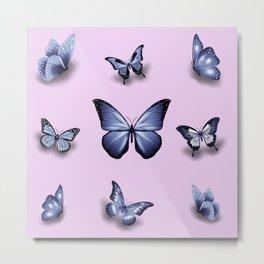 Butterflies effects Metal Print