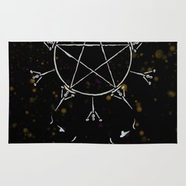 A Tarot of Ink 10 of Pentacles Rug