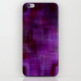Purple#2 iPhone Skin