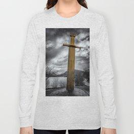 Llanberis Sword Snowdonia Long Sleeve T-shirt